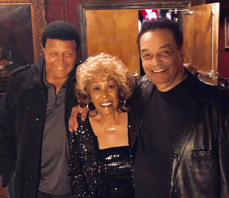 Chubby Checker, Gary U.S. Bonds, and Dee Dee Sharp